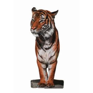 Tigre impression totem sur mesure